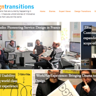Design Transitions Project WebsiteScreen Shot
