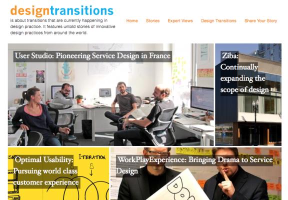 Design Transitions Project WebsiteScreen Shot
